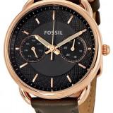 Fossil ES3954/13 Tailor ceas dama 100% original. Garantie. Livrare rapida., Casual, Quartz, Inox, Piele, Data