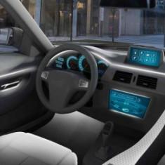 Fir cu lumina ambientala auto decorativ luminos neon flexibil 5M Alb