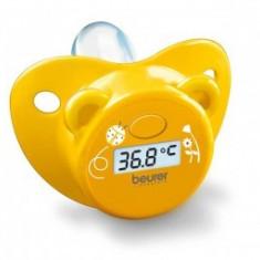 Termometru Digital Suzeta Bebelusi Beurer Galben - Termometru copii