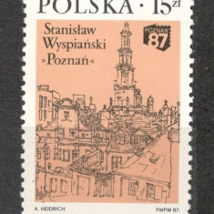 Polonia.1987 Expozitia filatelica POZNAN SP.380 - Timbre straine, Nestampilat