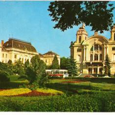 CPI (B8662) CARTE POSTALA - CLUJ-NAPOCA. TEATRUL NATIONAL - Carte Postala Transilvania dupa 1918, Circulata, Fotografie