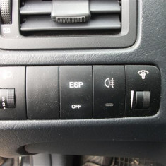 Panou comenzi reglaj nivel faruri+ESP+proiectoare+iluminare bord Hyundai Tucson 2, 0L Diesel, Euro 4 an 2008, 140cp - Climatronic
