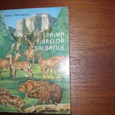 SPAIMA FIARELOR SALBATICE - Gellu Paltineanu ( carte foarte rara ) *