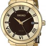 Seiko SNE884  Solar ceas dama nou 100% original. Garantie. Livrare rapida, Casual, Quartz, Inox