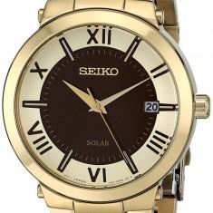 Seiko SNE884 Solar ceas dama nou 100% original. Garantie. Livrare rapida, Casual, Quartz, Inox, Baterie solara