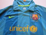 Tricou NIKE fotbal - FC BARCELONA (oficial-marime copil 10/12 ani), M, Din imagine