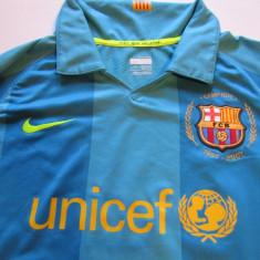 Tricou NIKE fotbal - FC BARCELONA (oficial-marime copil 10/12 ani)
