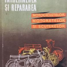 INTRETINEREA SI REPARAREA MOTOCICLETELOR, MOTORETELOR, SCUTERELOR - Mayer