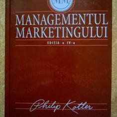 Philip Kotler - Managementul marketingului Editia a IV-a
