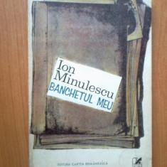 h6 Ion Minulescu - Banchetul Meu