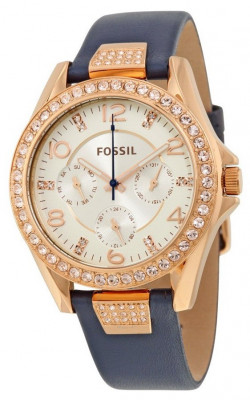 Fossil ES3887 Riley ceas dama nou 100% orginal. Garantie livrare rapida. foto