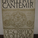 Descriptio Moldaviae -Dimitrie Cantemir - Istorie