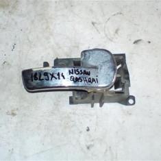 Maner usa interior dreapta spate Nissan Qashqai An 2007-2013, cromat - Manere usi Tuning
