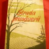 Dumitru Ignea - Strada Primaverii - Prima Ed. 1956 - Roman