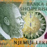 Bancnota 1000 Leke - ALBANIA, anul 2011 *xF cod 206 - bancnota europa