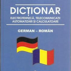 Wilhelm Theiss - DICTIONAR GERMAN-ROMAN ELECTROTEHNICA, TELECOMUNICATII