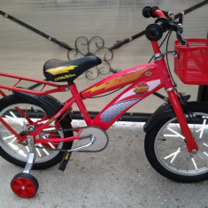 Disney Cars Fulger McQueen, bicicleta copii 16