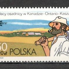 Polonia.1987 Expozitia fiIatelica CAPEX SP.377 - Timbre straine, Nestampilat