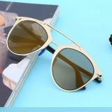 Ochelari Soare Unisex Aviator Style - Model Foarte Frumos, UV400 - 2