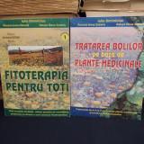 IULIA SIMINICIUC - FITOTERAPIA PENTRU TOTI / TRATAREA BOLILOR ( 2 VOL. ) - 2002 - Carte tratamente naturiste