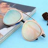 Ochelari Soare Unisex Aviator Style - Model Foarte Frumos, UV400 - 4