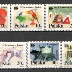 Polonia.1987 Expozitia filatelica HAFNIA-Povesti SP.387 - Timbre straine, Nestampilat