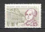 Polonia.1987 Ziua mondiala a Postei  SP.386, Nestampilat