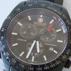 Ceas Swiss Miitary HANOWA Chronograph - Ceas barbatesc Swiss Military, Casual, Quartz, Otel, Cronograf