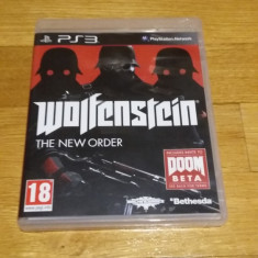 PS3 Wolfenstein The new order - joc original by WADDER - Jocuri PS3 Bethesda Softworks, Shooting, 18+, Single player