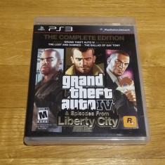 PS3 Grand theft auto GTA The complete edition (4&EFLC) - joc original by WADDER