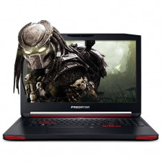 Laptop Acer Gaming Predator G9-793-78GL 17.3 inch Full HD Intel Core i7-7700HQ 16GB DDR4 1TB HDD 256GB SSD nVidia GeForce GTX 1070 8GB Linux Black