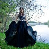Rochie seara Olga (Atelier de Frumos), colectia Gaia, mar. 38-40 (M) - Rochie de seara, Culoare: Din imagine