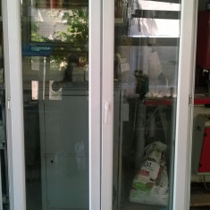 Doua usi duble PVC + Fereastra PVC