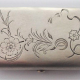 Tabachera din argint atelier rusesc - Tabachera veche