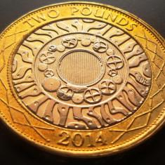 Moneda bimetal 2 Pounds (Lira Sterlina) - ANGLIA, anul 2014 *cod 2961 xF, Europa