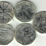 MONEDA DE 5 EURO ARGINT, AUSTRIA, 10 GRAME, PRET BUN !!, Europa