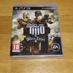 PS3 Army of two the devil's cartel - joc original by WADDER - Jocuri PS3 Electronic Arts, Shooting, 18+, Multiplayer