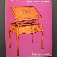 Mobila veche, mobilier vechi. Prezinta 238 piese. - Carte Istoria artei