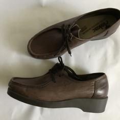 Pantofi pt. dama din piele Rieker mar. 39 - Pantofi barbat Adidas, Marime: 40, Culoare: Maro, Piele naturala