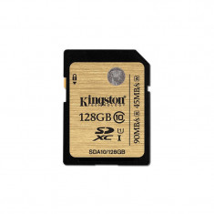 Card Kingston SDXC 128GB Clasa 10 UHS-I