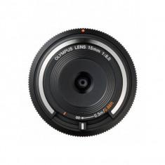 Obiectiv Olympus Body Cap Lens 15mm f/8.0 Black montura Micro Four Thirds - Obiectiv DSLR
