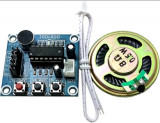 Modul sunet si voce ISD1820 cu inregistrare microfon si difuzor