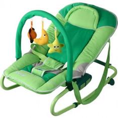 Sezlong pentru Copii Astral green - Balansoar interior Caretero