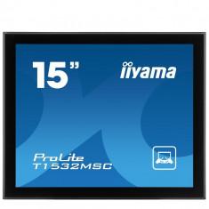 Monitor Touchscreen sh Iiyama ProLite T1532MSC-B1 15 inch