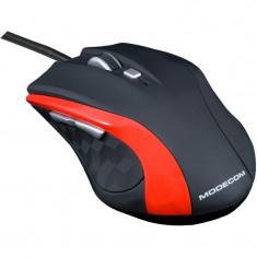 Mouse de notebook Modecom M5 Black-Red