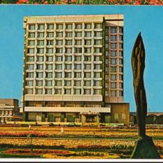 CPI (B8687) CARTE POSTALA - GHEORGHE GHEORGHIU DEJ. HOTEL TROTUS - Carte Postala Transilvania dupa 1918, Necirculata, Fotografie