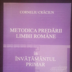 Metodica predarii limbii romane