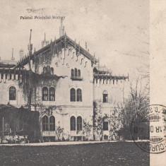 BUFTEA PALATUL PRINTULUI STIRBEY LA BUFTEA TCV CIRCULATA 1906 - Carte Postala Muntenia pana la 1904, Printata