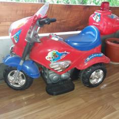 Motocicleta electrica pt. copii peste 3 ani - maxim 20kg - Masinuta electrica copii Altele