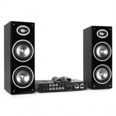 KARAOKE STAR 3D-BT Bluetooth, 2 microfoane și USB - Echipament karaoke